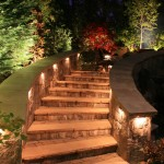 Outdoor Lighting for Steps and Walkways