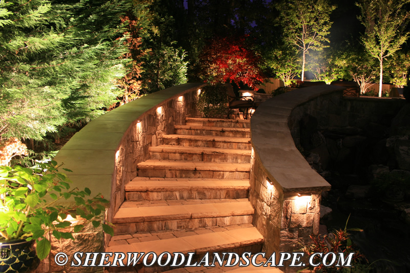 Outdoor Lighting for Stairs and Walkways