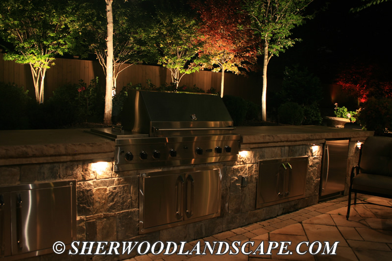 Lighting for outdoor living spaces michigan outdoor lighting company landscape lighting for outdoor living space workwithnaturefo