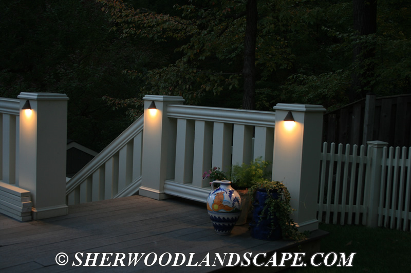 Outdoor Landscape Lighting for Walkways and Stairs