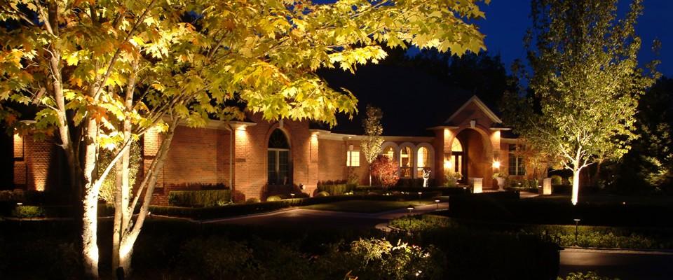 Michigan outdoor lighting company sherwood landscape for Outside landscape group